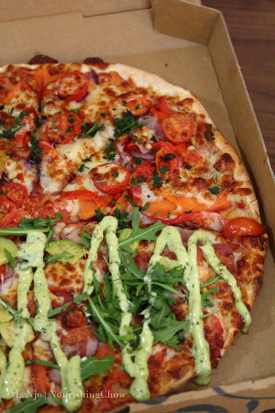 pizza, half-half
