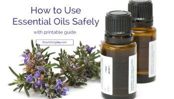 Safe Essential Oils for Babies & Kids - Nourishing Joy