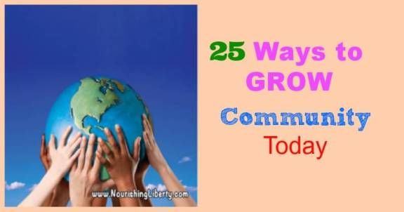25 Ways to Grow Community