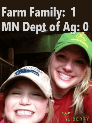 MN Farm Family Victorious in Court!