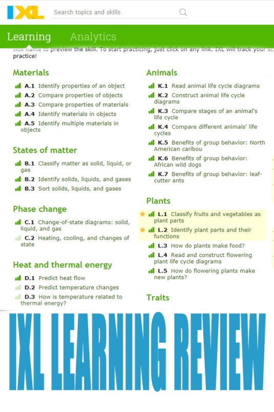 IXL Learning Review - A Fun Way To Learn | Nourishing Parenting