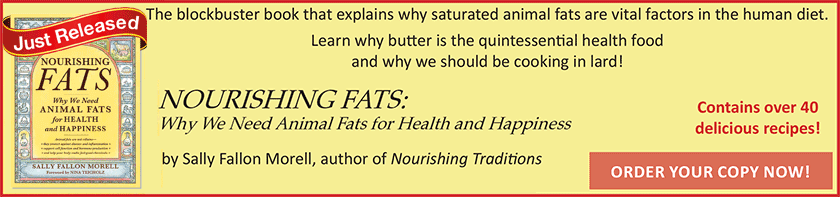 Order your copy of Nourishing Fats