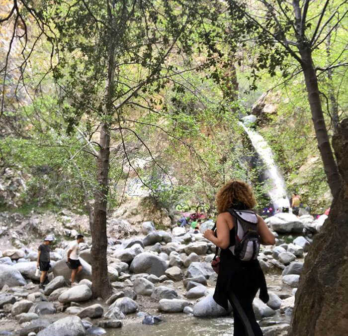 Get your feet wet at Eaton Canyon, a great trek for new hiker.