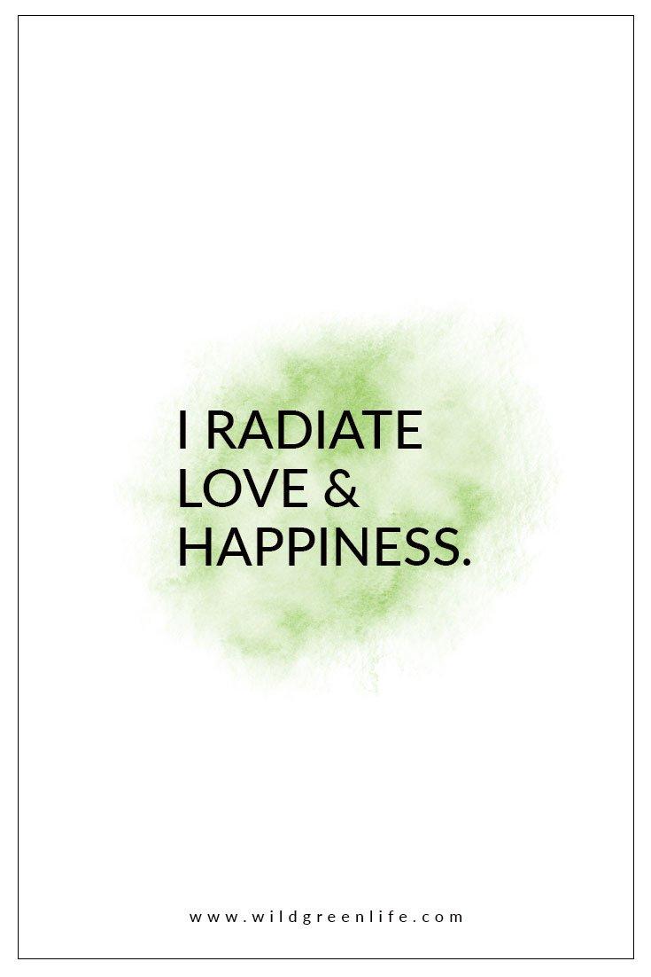 radiating