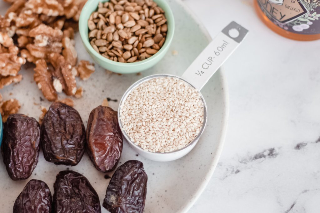 Seed Cycling Protein Bites