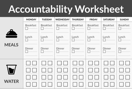 Accountability Worksheet