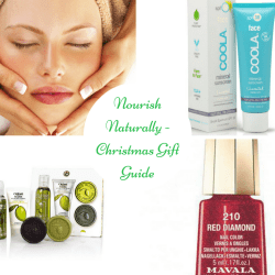 Natural skincare gifts - Nourish's Gift Guide 2