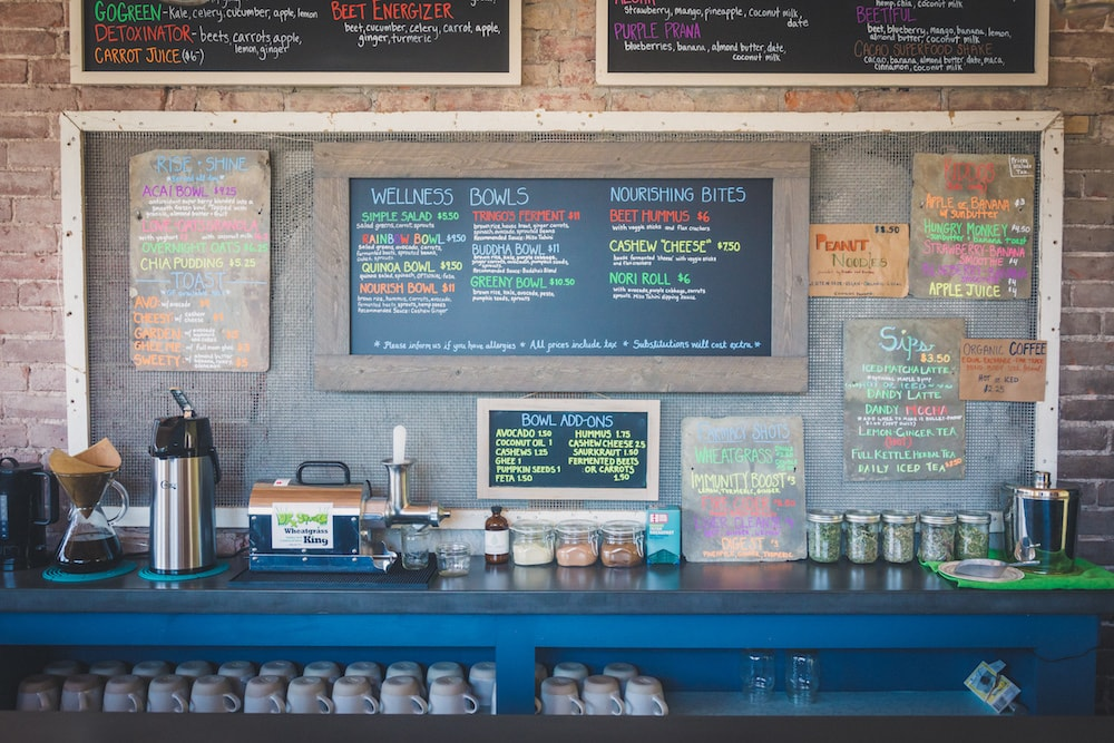 Healthy Lunch Places in Northampton: Nourish Wellness Cafe