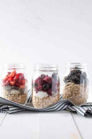Overnight Oats | healthy | in a jar | recipe