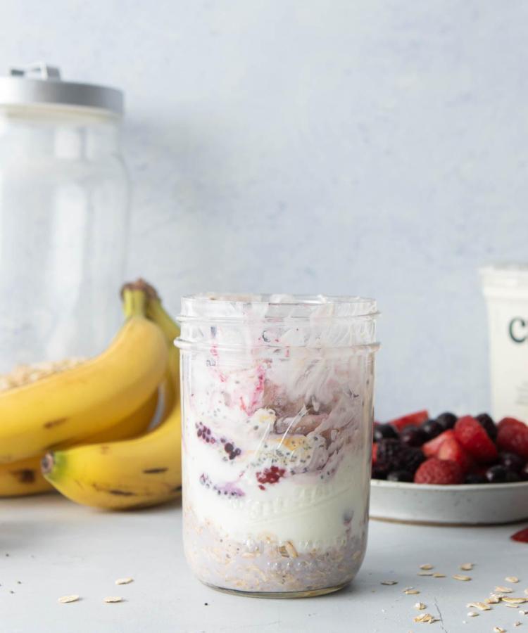 Overnight Oats | healthy | in a jar | recipe