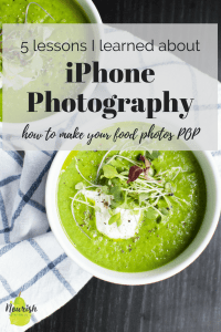 How to Take Food Photos with a Phone | Smartphone Food Photography