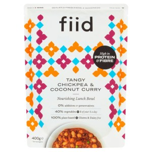 Fiid Tangy Chickpea & Coconut Curry (400g) - Vegan Gluten Free Dairy Free