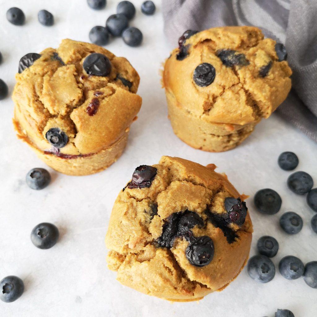 muffins à la myrtille sans gluten