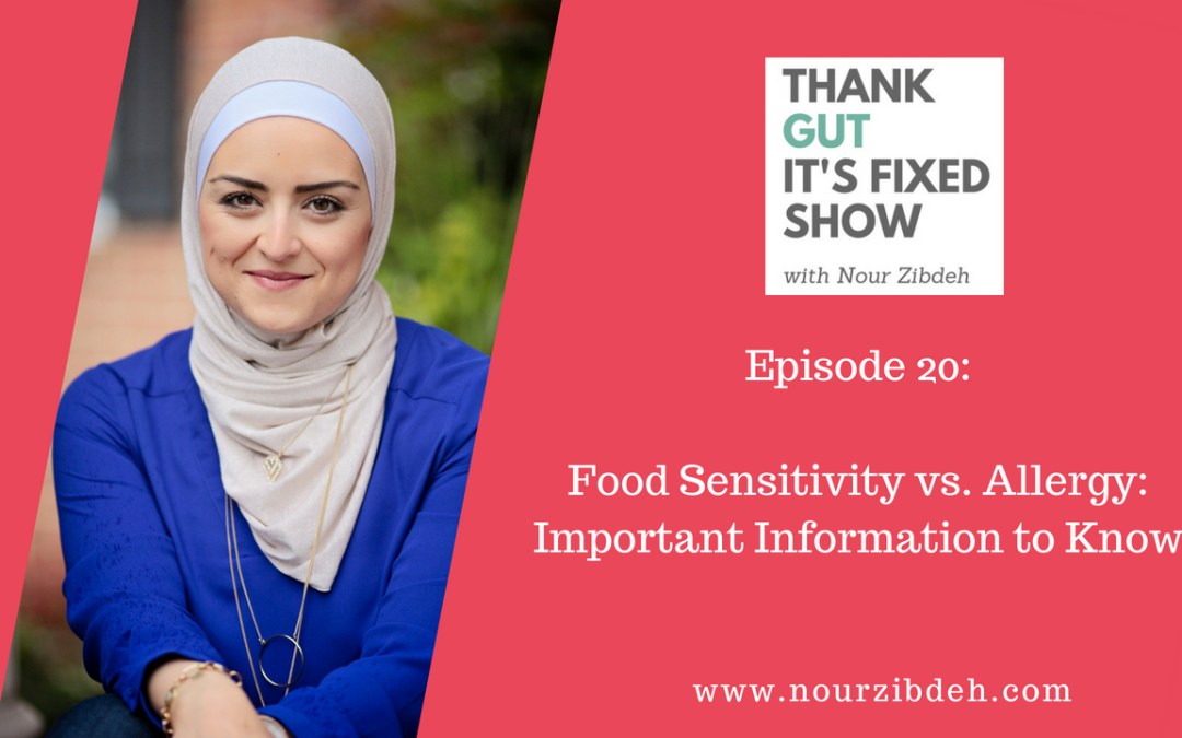 Food Sensitivity vs Allergy: Important Information To Know