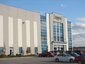 L'outlet Zappos en 2008