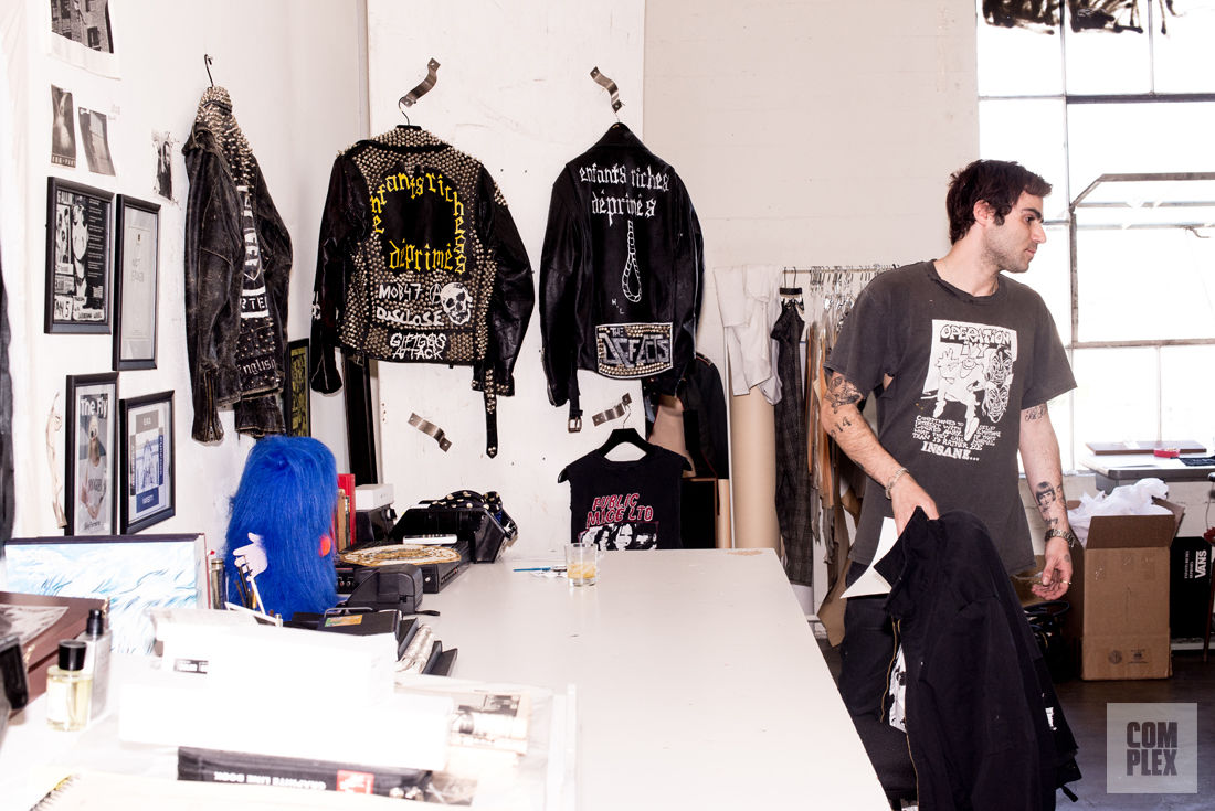 Henry Levy is where Punk Fashion meets Paris Fashion Week