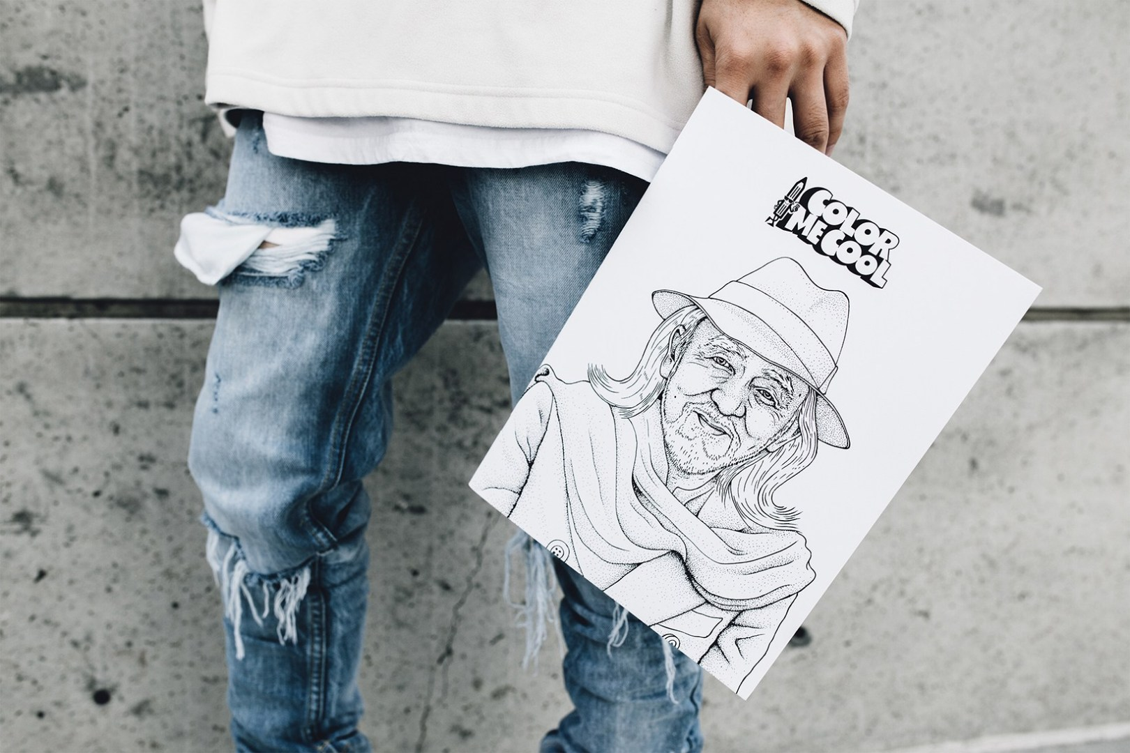 COLOR ME COOL is the First Adult Streetwear Coloring Book