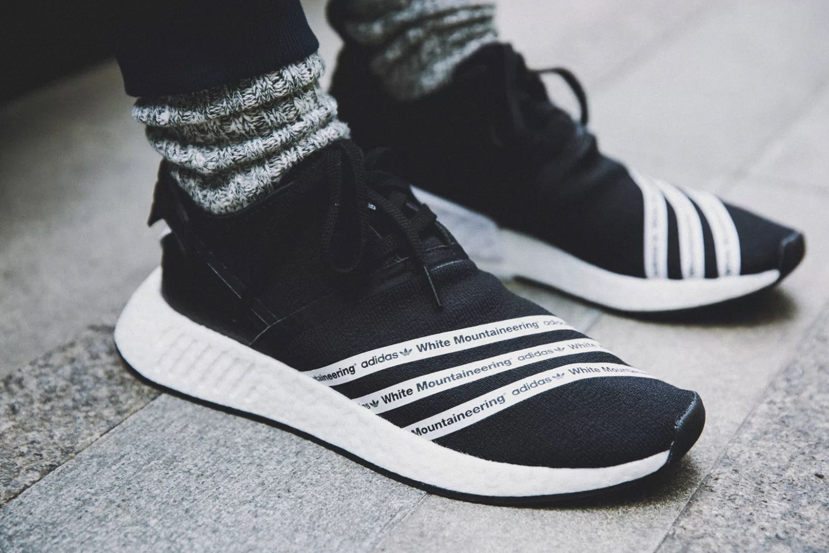 buy popular 27fcc 2c8b7 White Mountaineering and adidas Originals Are Releasing an Entire