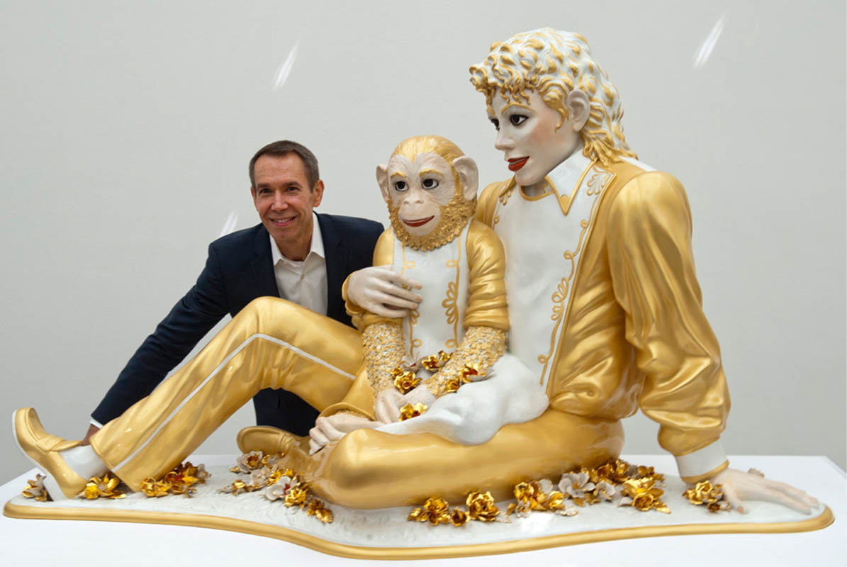 Jeff Koons has a new mini-documentary Narrated by Scarlett Johansson