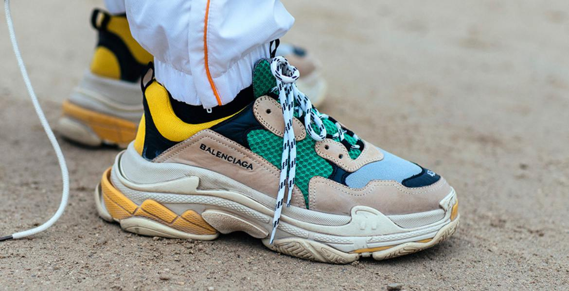 Why are Chunky Sneakers So Popular?