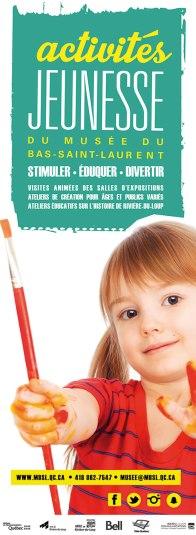 Affiche des activités jeunesse / Musée du Bas-Saint-Laurent