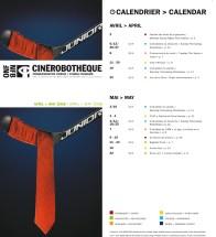 Programmation papier / Officiel national du film