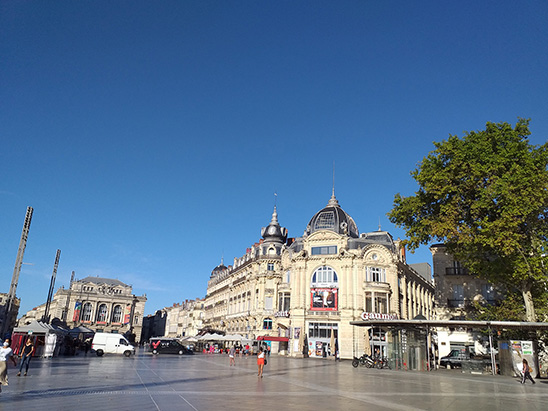 Place Comedie Montpellier