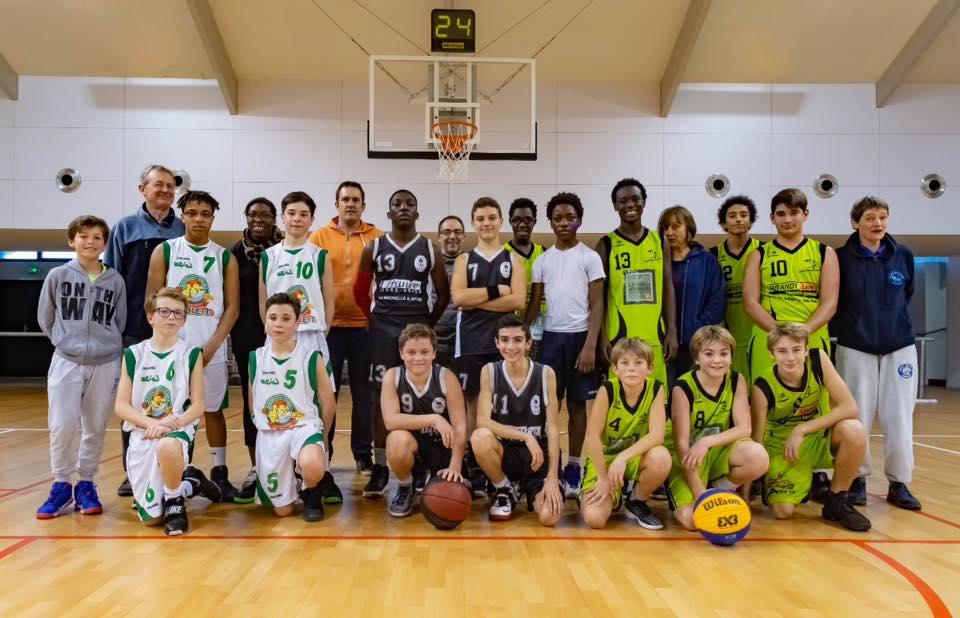 Plateau 3x3 - Ligue Nouvelle-Aquitaine de Basket-Ball