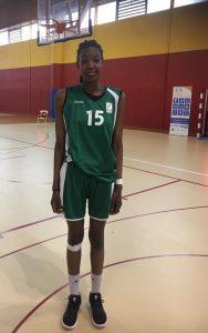 Ramouna Saïd sélectionnée avec l'équipe de France U15 !