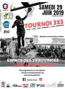 Un Open Start 3×3 à Brive-la-Gaillarde