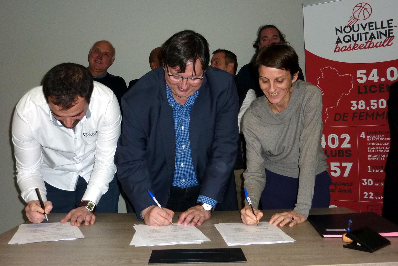 La convention ETR, Equipe Technique Régionale, est signée