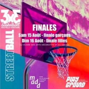 Notre Tournoi 3×3 (Finales) ce week-end, c'est à Bordeaux