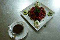 Salade Keur Yakaar, au menu du restaurant. Photo DR