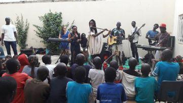 Concert au Samu Social