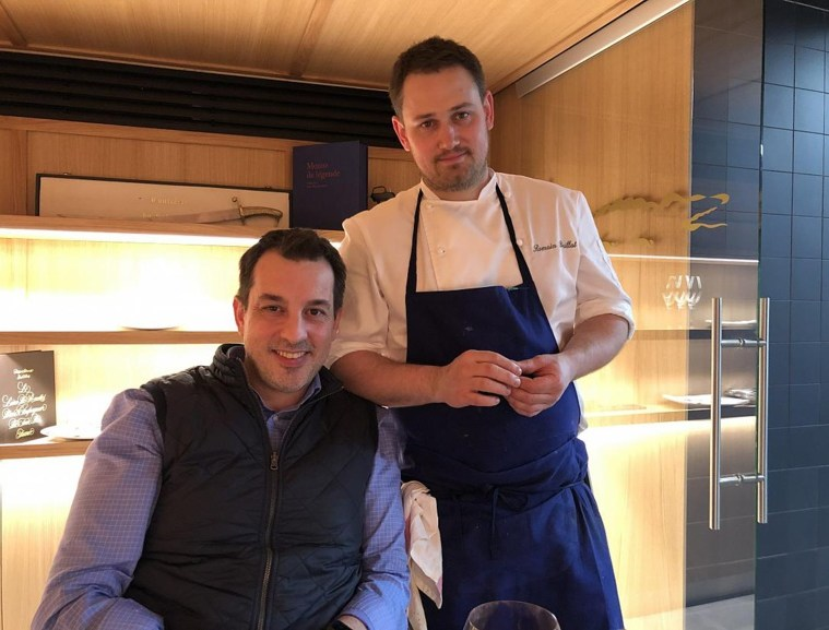 Cédric Moulot et Romain Brillat, el retour de l'étoile Michelin au Crocodile ©GP