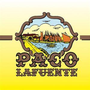 Logo paco lafuente - Conserverie - Espagne - poissons sardines - Nouvelle Vague l'Epicerie de la Pêche à Bordeaux