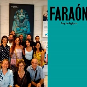 Visita cultura a l'exposició 'Faraón'