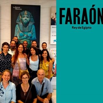 Visita cultural a la exposición 'Faraón'