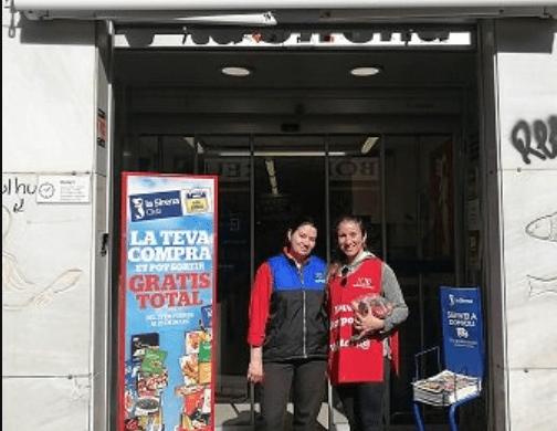 L'empresa La Sirena, amplia la seva participació en el projecte Mercat Solidari de Nova Acròpolis Barcelona