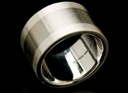 Stainless Steel Silver Ring-rs28