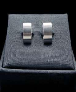Stainless Steel Earrings Brushed Finish (ER92 lg)