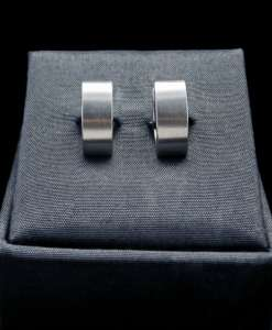Stainless Steel Earrings Brushed Finish (ER92 lg)
