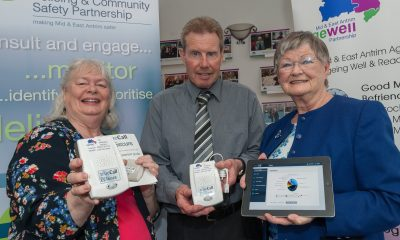 Mary Watson PCSP Vice Chair, PJ White MEAAP lead Volunteer and jean Haveron MEAAP Chairperson
