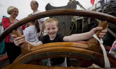 Chance for local young people to find their sea legs.