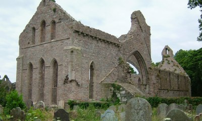 Cistercian abbey at Greyabbey - established in the late twelfth century by Affreca, wife of the Norman leader John de Courcy, one of the historical sites featured on the guided tour on Saturday 18 August.
