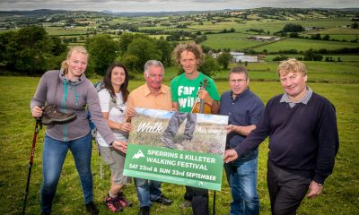 ictured at the launch of the 2018 Sperrins and Killeter Walking Festival are Josefin Koehler, Ashleigh Devine, Festival and Events Officer at Derry City and Strabane District Council, Eamon Dolan, Lorcan McBridge, Far and Wild, Councillor Kieran McGuire and Gordon Spears.
