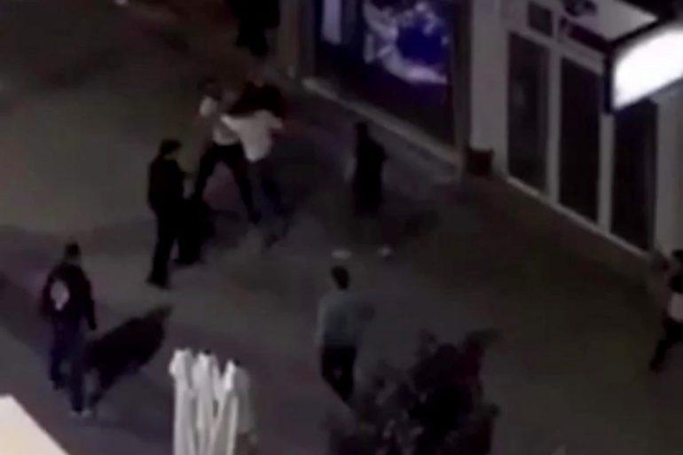 VIDEO Masovna tuča u Aleksincu, jedan učesnik završio u izlogu