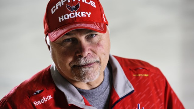 ARLINGTON - SEPTEMBER 18: Washington Capitals head coach Barry Trotz at Kettler Capitals Iceplex on September 18, 2014. (Photo by Toni L. Sandys/The Washington Post via Getty Images)