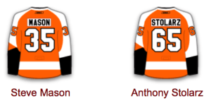 Flyers goaltenders