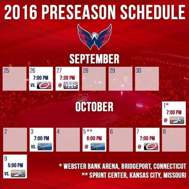 2016-capitals-pre-season-schedule